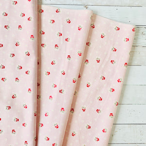 5 Yard Backing - Gretel Pink Gingham