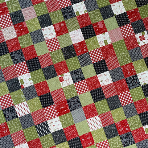 Patchwork Quilt Kit - Sweetwater Christmas
