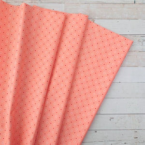 5 Yard Backing - The Good Life Blush Circle Dots