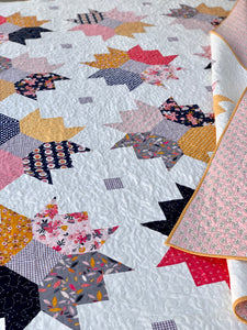 Fall Flowers Quilt Kit