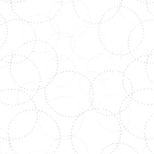 Modern Background Paper - Silver White XOXO