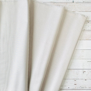 5 Yard Backing - Grey Gingham