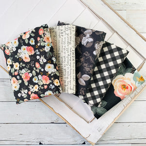 Gingham Gardens Charcoal Bundle