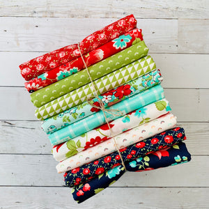 Bonnie & Camille - Red, Green, Aqua & Navy Bundle