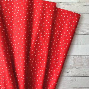 5 Yard Backing - Couturiere Parisienne Red Dots