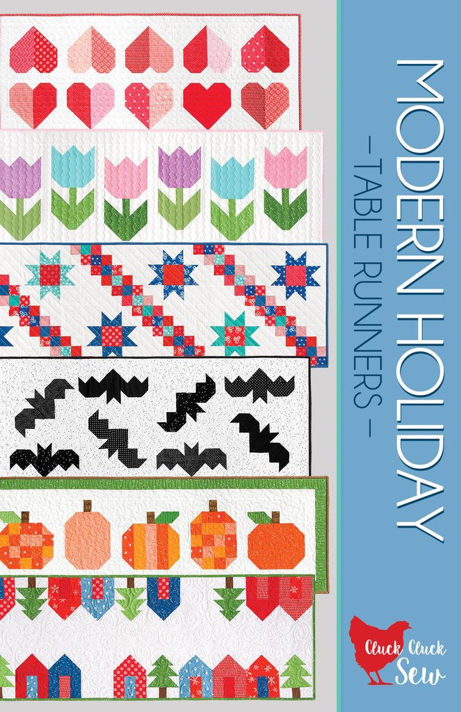Modern Holiday Table Runners Paper Pattern