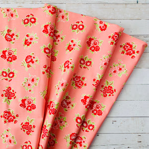 5 Yard Backing - Little Snippets Blush Floral