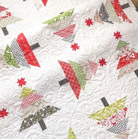 Wooded Whimsy Quilt Kit