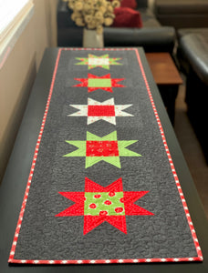 Christmas Stars Runner Kit