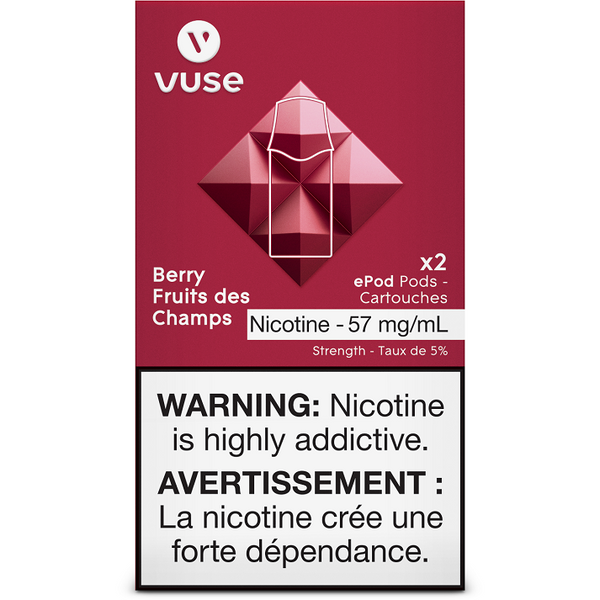 VUSE BERRY PODS 2/PK
