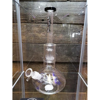 "BONG GLASS 13"" 7MM WITH PERCULATOR"
