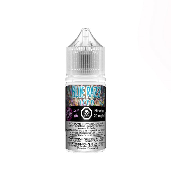 Underground Vapes Inc - BAD GIRL BY UNDERGROUND VAPES INC - BAD GIRL BLUE RAZZ SALTS (BLUE RASPBERRY ICED) - E-LIQUID