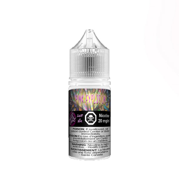 Underground Vapes Inc - BAD GIRL BY UNDERGROUND VAPES INC - BAD GIRL PINK EXPLOSION SALTS (PINK LEMONADE) - E-LIQUID
