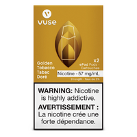 VUSE GOLDEN TOBACCO PODS 2/PK