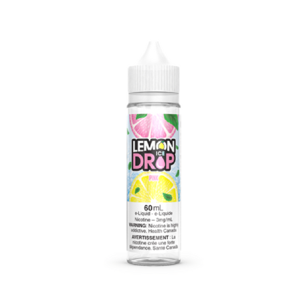 Underground Vapes Inc - Lemon Drop - PINK BY LEMON DROP ICE - E-LIQUID