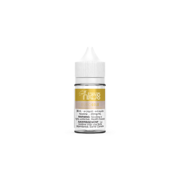 NAKED 100 EURO GOLD TABACCO SALTS
