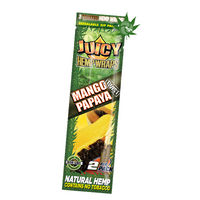 JUICY HEMP WRAPS MANGO PAPAYA 2/PK