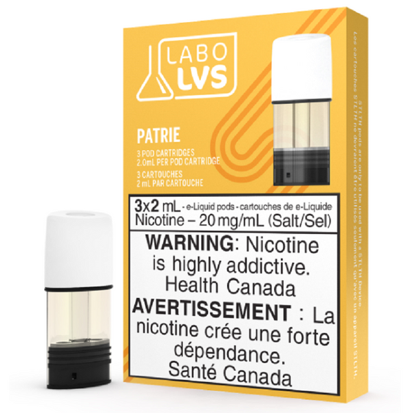 STLTH LABO LVS Pods, Patrie (3/pack) arriving monday