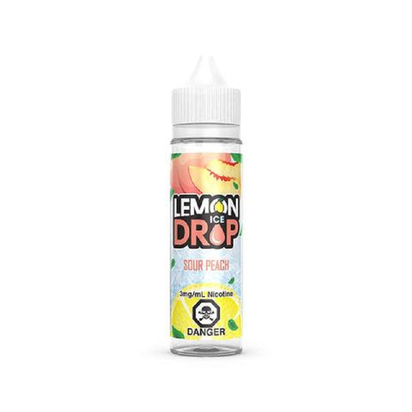 Underground Vapes Inc - Lemon Drop - PEACH BY LEMON DROP ICE - E-LIQUID