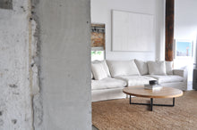 Load image into Gallery viewer, Modular sofa light coloured linen