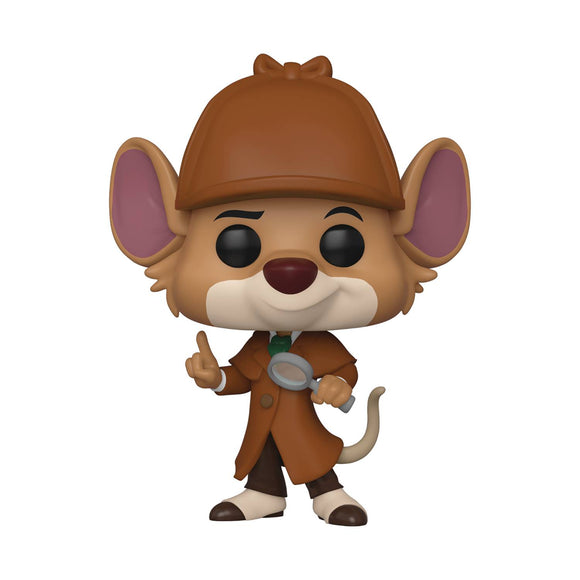 POP DISNEY GREAT MOUSE DETECTIVE BASIL VINYL FIG