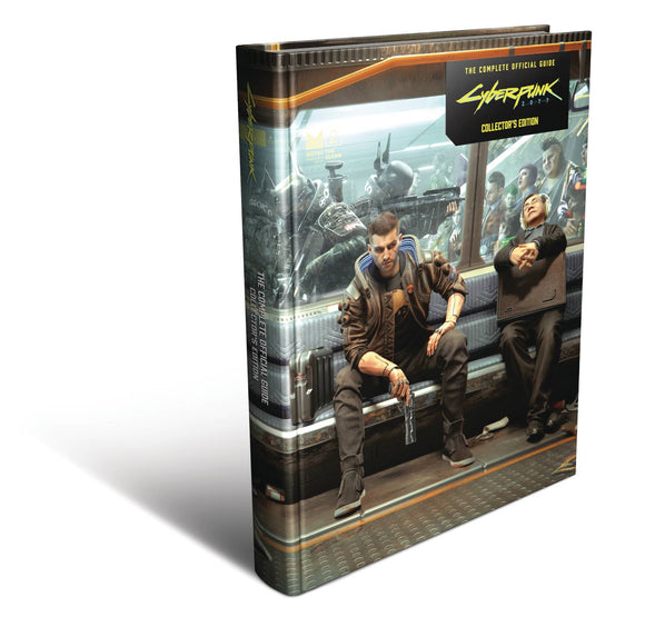 CYBERPUNK 2077 COMP OFFICIAL GUIDE HC