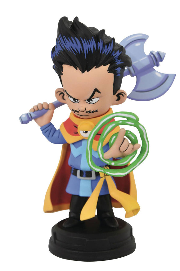 MARVEL ANIMATED STYLE DR STRANGE STATUE
