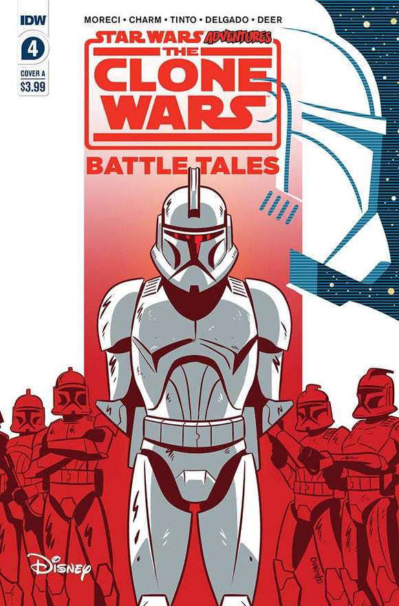 STAR WARS ADVENTURES CLONE WARS #4 (OF 5) CVR A CHARM