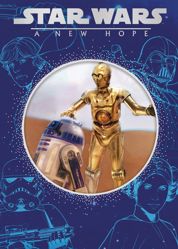 STAR WARS NEW HOPE STORYBOOK DIE CUT CVR