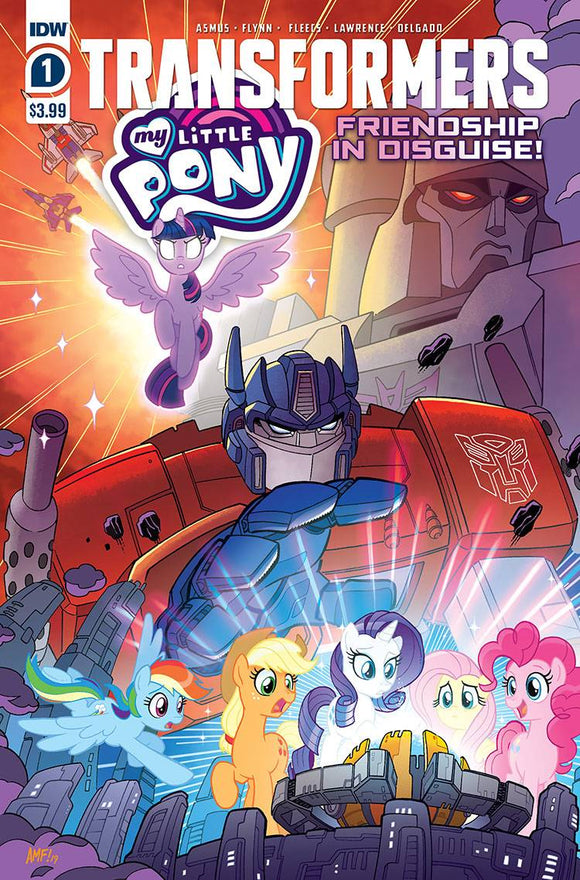 MY LITTLE PONY TRANSFORMERS #1 (OF 4) CVR A FLEECS