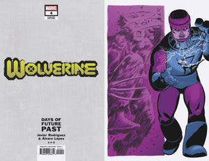 WOLVERINE #4 RODRIGUEZ DAYS OF FUTURE PAST VAR
