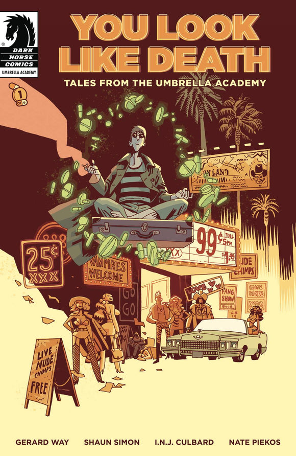 YOU LOOK LIKE DEATH TALES UMBRELLA ACADEMY #1 (OF 6) CVR A GABRIEL