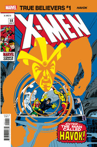 TRUE BELIEVERS X-MEN HAVOK #1