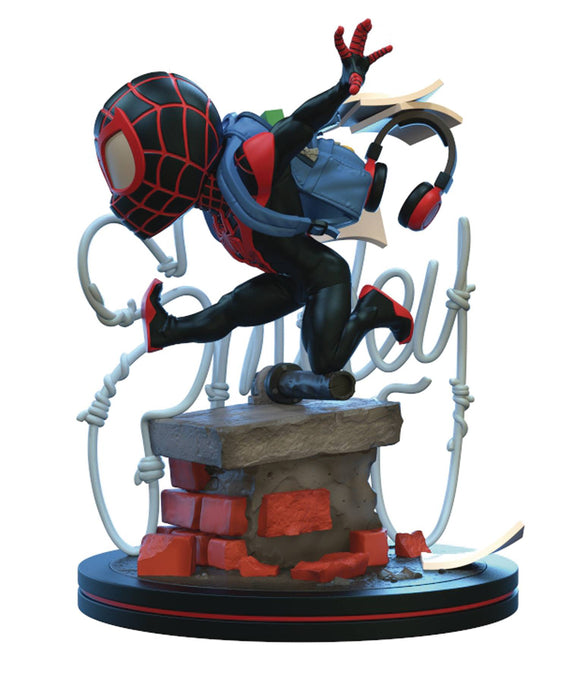 MARVEL SPIDER-MAN MILES MORALES Q-FIG ELITE DIORAMA