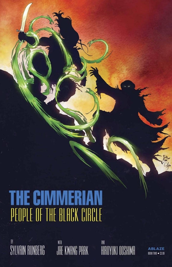 CIMMERIAN PEOPLE OF BLACK CIRCLE #2 CVR D CASAS (MR)