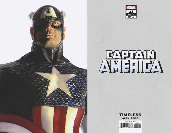 CAPTAIN AMERICA #23 ALEX ROSS CAPTAIN AMERICA TIMELESS VAR