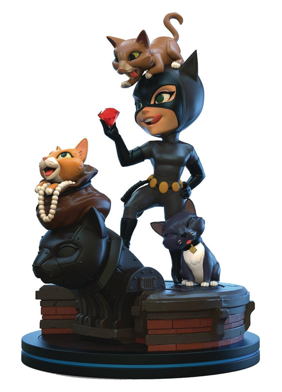 BATMAN ANIMATED CATWOMAN Q-FIG ELITE DIORAMA FIGURE