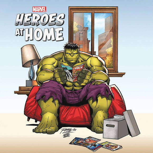 HEROES AT HOME #1 RON LIM VAR