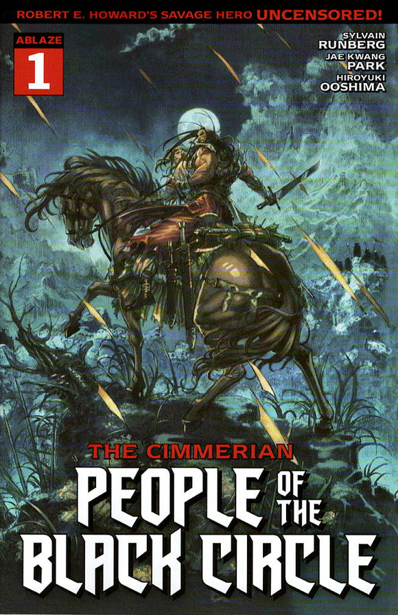 CIMMERIAN PEOPLE OF BLACK CIRCLE #1 CVR A JAE KWANG PARK (M)