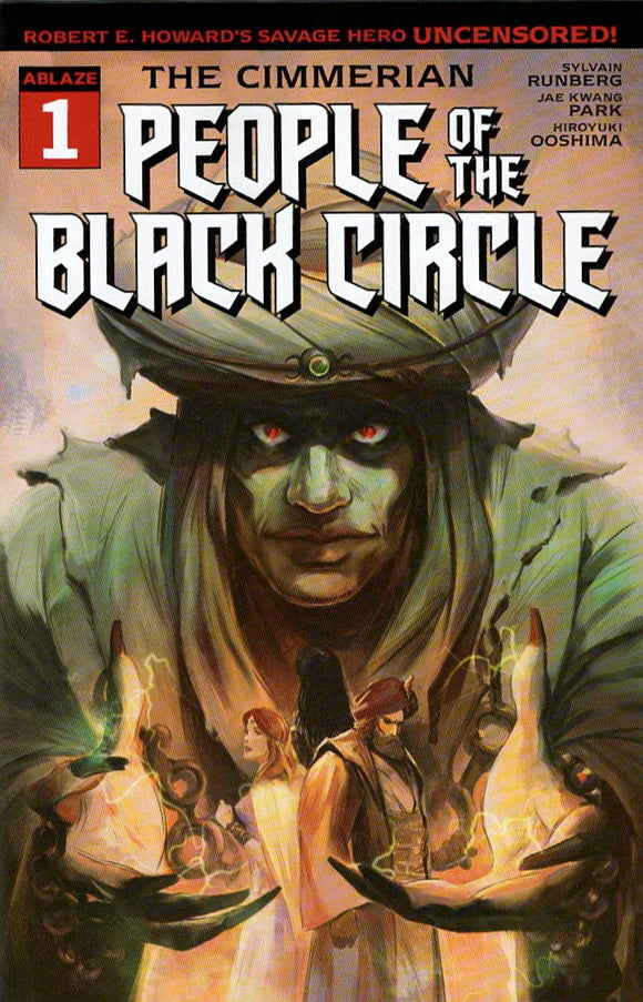 CIMMERIAN PEOPLE OF BLACK CIRCLE #1 CVR B FRED RAMBAUD (MR)
