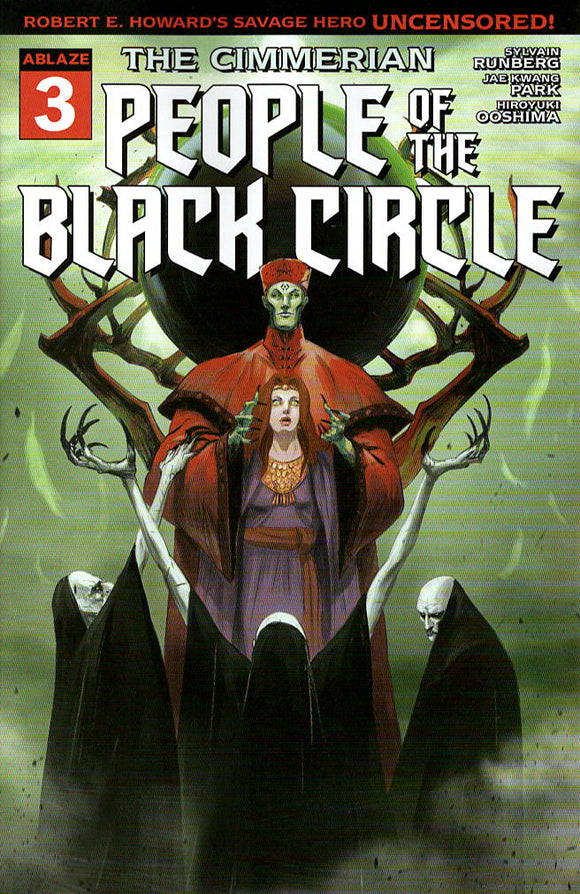 CIMMERIAN PEOPLE OF BLACK CIRCLE #3 CVR C RAMBAUD (MR)