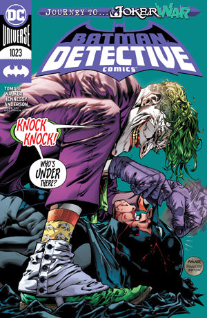 DETECTIVE COMICS #1023 CVR A BRAD WALKER (JOKER WAR)
