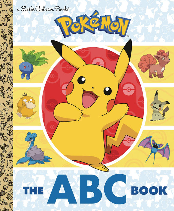 POKEMON ABC LITTLE GOLDEN BOOK
