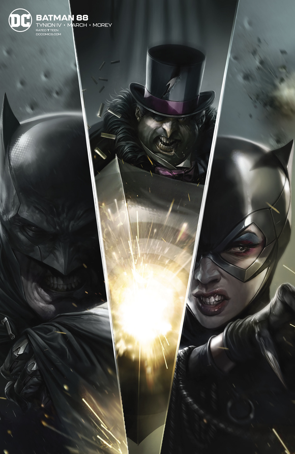 BATMAN #88 CARD STOCK FRANCESCO MATTINA VAR ED