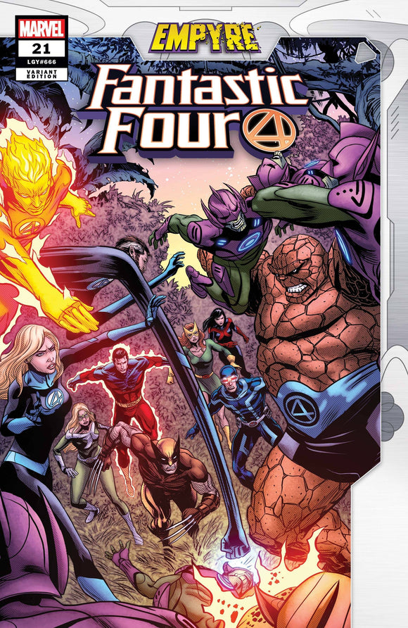 FANTASTIC FOUR #21 ZIRCHER CONFRONTATION VAR EMP