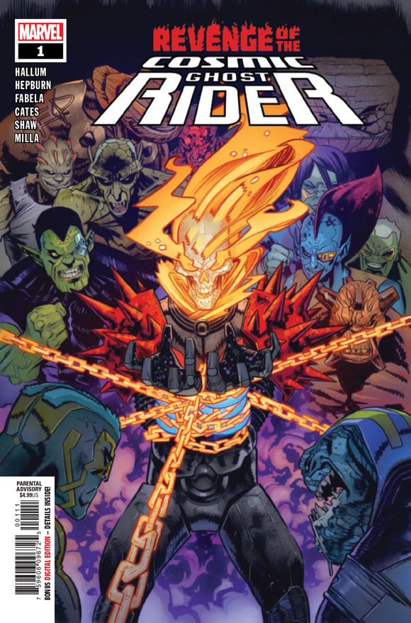 REVENGE OF COSMIC GHOST RIDER #1 (OF 5)