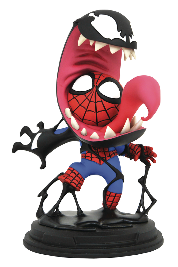 MARVEL ANIMATED VENOM & SPIDER-MAN STATUE