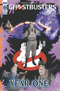GHOSTBUSTERS YEAR ONE #2 (OF 4) CVR A SHOENING