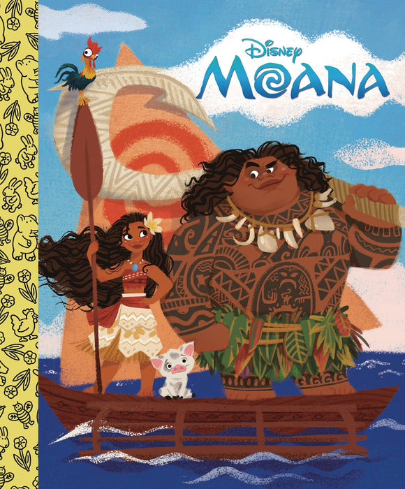 DISNEYS MOANA LITTLE GOLDEN BOARD BOOK