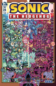 SONIC THE HEDGEHOG #24 CVR A GRAY & GRAHAM
